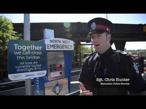Edmonton's High Level Bridge Safety Barriers