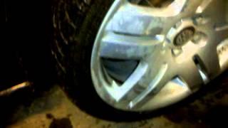 скрип колеса Polo sedan