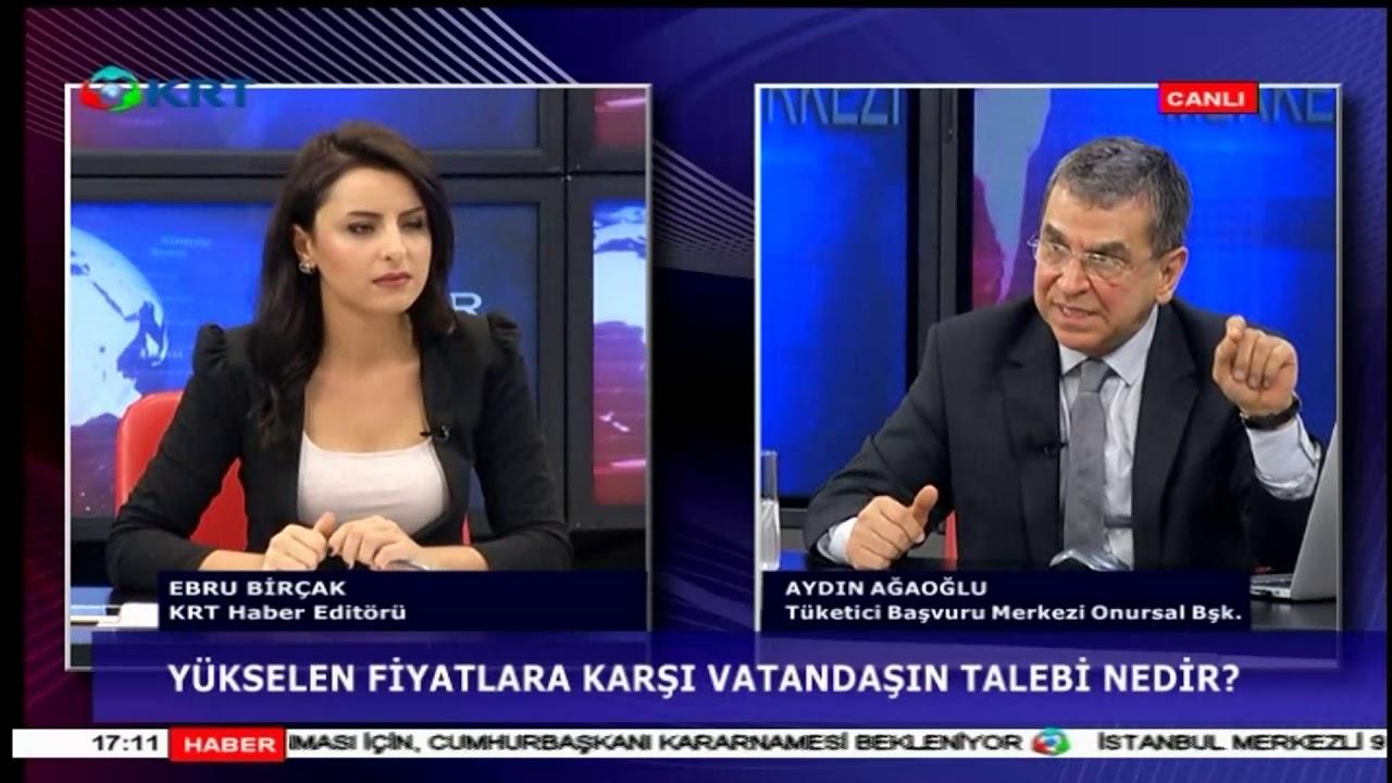 Yükselen Fiyatlara Karşı Halkın Talebi Nedir? Aydın Ağaoğlu KT TV
