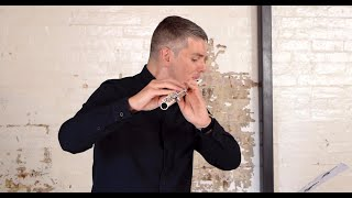JONATHAN HENDERSON performs 'ES' for solo flute (1994) by Gerard Brophy | World Premiere Recording
