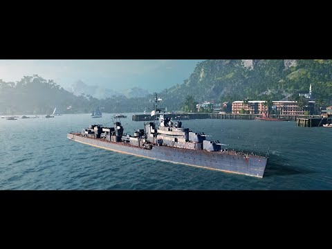 World of Warships DD KIEV