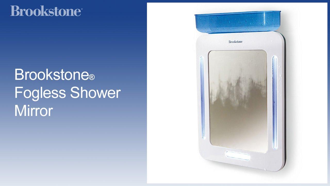Brookstone® Fogless Shower Mirror