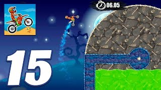 Moto X3M Bike Race Game Trick or Treat All Levels - Gameplay Android & iOS games