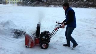 видео снегоуборщик Forte