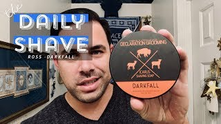 The Daily Shave -  Darkfall By Declaration Grooming