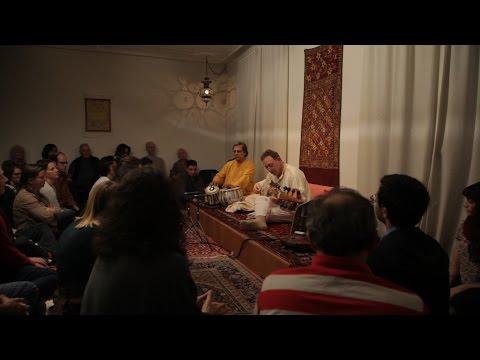 Ken Zuckerman - Sarod & Pandit Swapan Chaudhuri - Tabla, Raga Basant Mukhari