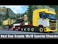 ✅ [ETS2 1.31] Next Gen Scania 10x10 Special Chassis Heavy Load
