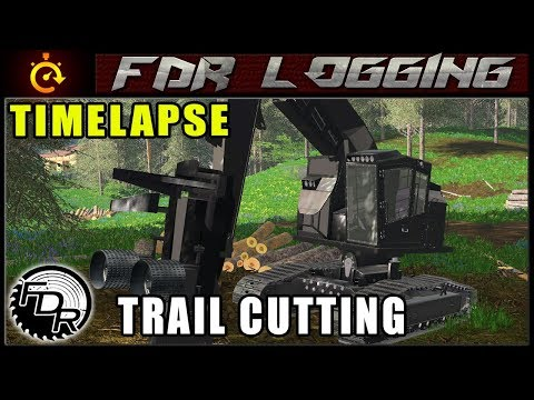The Dark Processor | Farming Simulator 2017 | Timelapse Logging thumbnail
