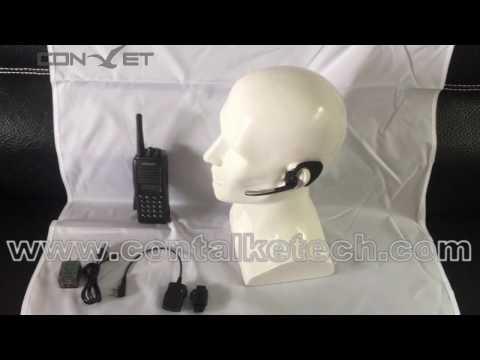 ContalkeTech Walkie Talkie Two Way Rdio Wireless Bluetooth ...