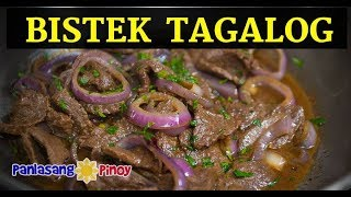 Bistek Tagalog | Beefsteak | Filipino Beef Steak Recipe