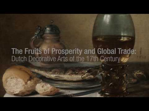 The Fruits of Prosperity and Global Trade: Dutch Decorative