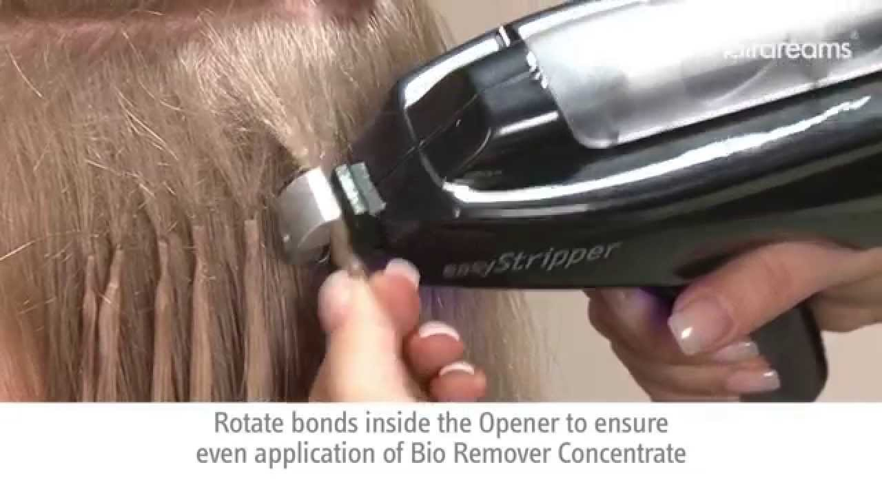Hair Extension Removal Easier Than Ever Hairdreams Easystripper