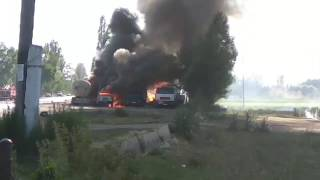 Ананьево айылындагы пожар