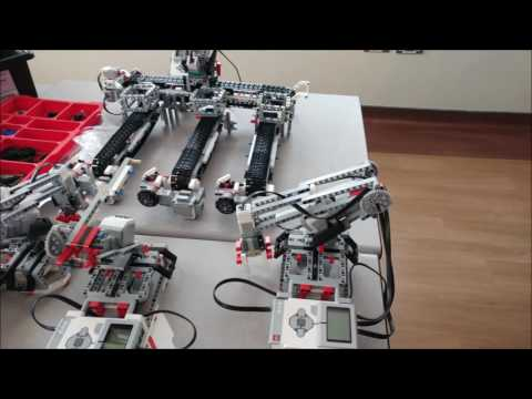 Alshamal Primary &  Preparatory School Project for  Qatar National Robot  Olympiad 2016