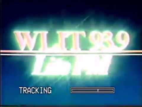 WLIT 93 9 Chicago IL  1990  tv commercial