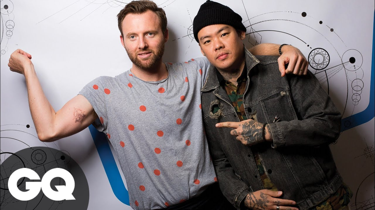 Celebrity Tattoo Artist Dr Woo Adds Ink To Gq Youtube