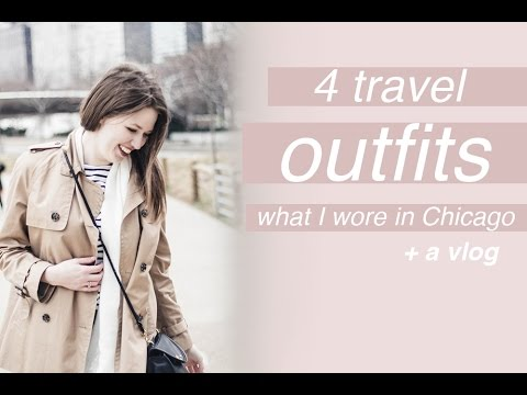 Chicago Vlog and 4 Travel Outfits | Chic Éthique