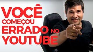 O maior erro de quem começa um canal no Youtube   Bruno Ávila