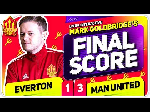 GOLDBRIDGE! Everton 1-3 Manchester United Match Reaction