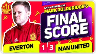 GOLDBRIDGE! Everton 1-3 Manchester United Match Reaction