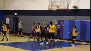 MADDUX SCORES 2 OF HIS 21 POINTS FOR THE WARRIORS--WAY2GO! SPORTS YOUTH LEAGUE SANTA CLARITA