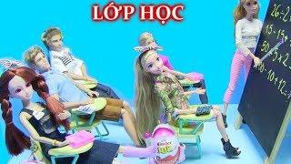 Xem Lớp Học Búp Bê Barbie Tự Làm Của Chị Bí Đỏ [đồ chơi trẻ em]