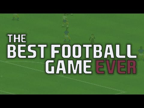 The Best Football Game Ever | Football Videogame History