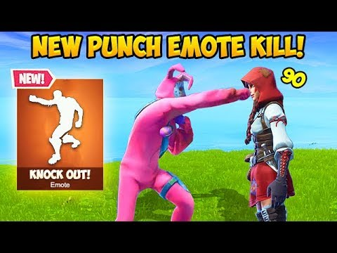 *NEW* PUNCH EMOTE ACTUALLY KILLS?! - Fortnite Funny Fails and WTF Moments! #340