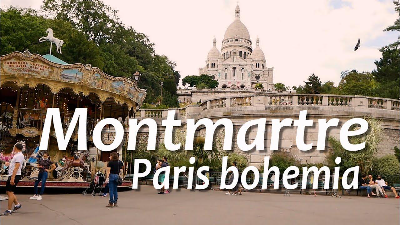 Paris 3, Montmartre, Pintores y Amelie - FRANCIA 3