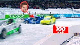 Mon accident de voiture violent filmé en 4k au stade de France!