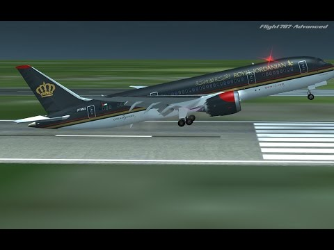 Flight 787 - Advanced - Boeing 787-8 DreamLiner - [ROYAL JORDANIAN from USA to MEXICO]