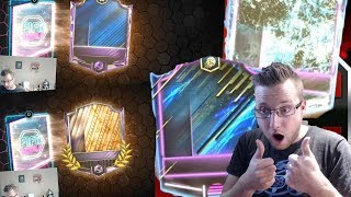 Our Best Retro Stars Packs Yet! 2 Masters in a Pack FIFA Mobile Retro Stars Arcade Mode!