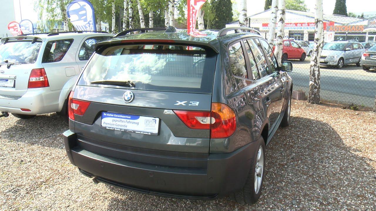 Autohaus line BMW X3 2 0 D DPF AHK LEDER