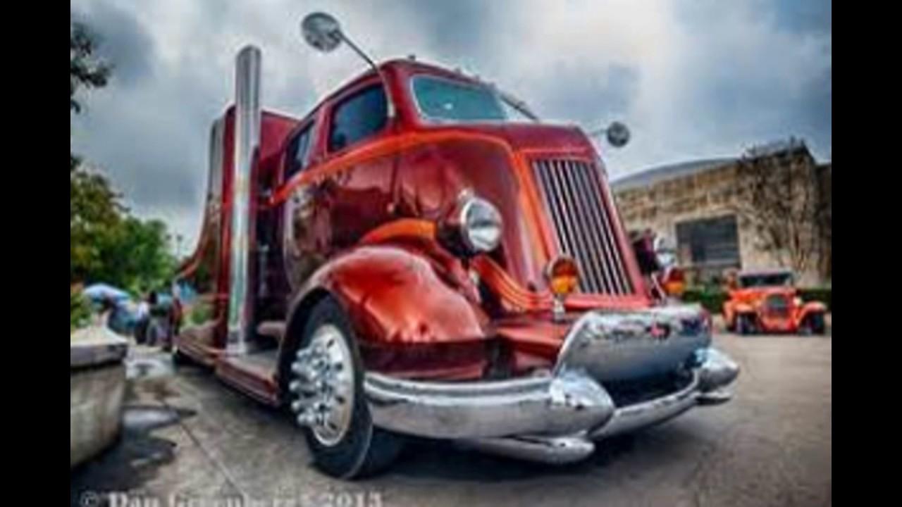 cool old coe trucks - YouTube