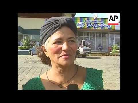 NICARAGUA: ECONOMY SUFFERING DUE TO HURRICANE