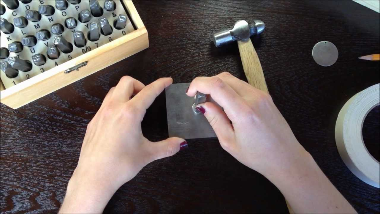 how to stamp metal