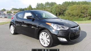 2012 Hyundai Veloster 6 spd Start Up, Exhaust, and In Depth Tour