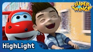 Hold on tight! Jett Speed! | SuperWings Highlight | S1 EP2