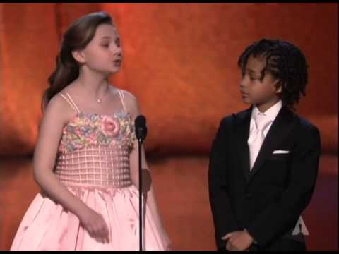 Jaden Smith and Abigail Breslin present Short Film Oscars®