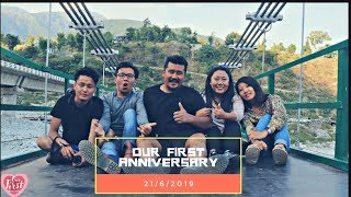 OUR FIRST ANNIVERSARY || COUPLE VLOG || INFINITEA SPORTS COMPLEX