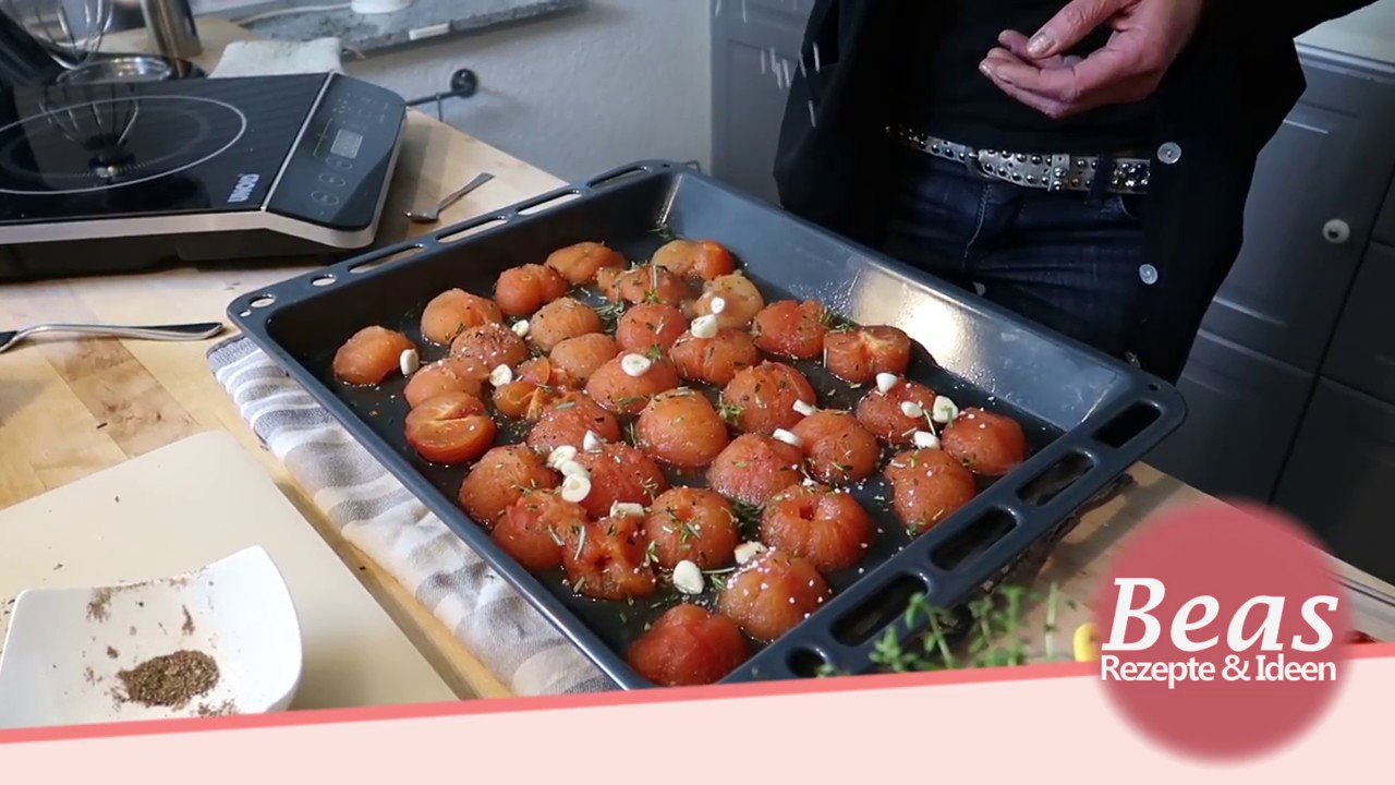 tomatensauce selber machen rezept tomato sauce beas rezepte youtube. Black Bedroom Furniture Sets. Home Design Ideas