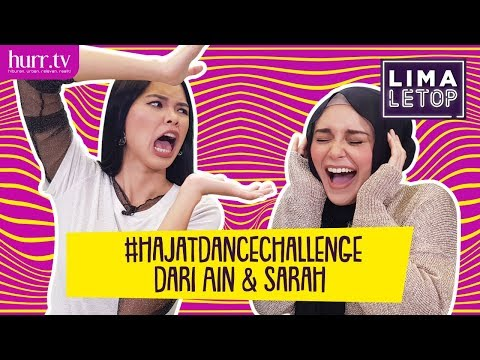 LimaLeTop! | #hajatdancechallenge dari Ain Edruce & Sarah Hildebrand (Full Version)