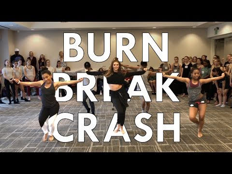 Aanysa x Snakehips - Burn Break Crash Maddie Ziegler | Radix Dance Fix Ep 14 | Brian Friedman Choreo