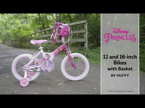 Disney Princess Kid Bike W/ Cinderella, Ariel & Rapunzel Graphics