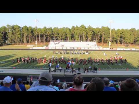 Scotland High School Marching Band Performing at Competition 9/24/2016
