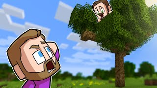 Who Can Build The Best TREEHOUSE?! | Minecraft
