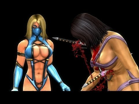 Generate Mortal Kombat Komplete PC Blonde Mileena Mod & Challenge Tower Snapshots