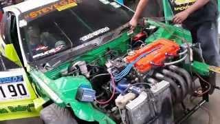 Steve Garage Pekanbaru goes to D2 Dragrace Sentul seri 5 2014