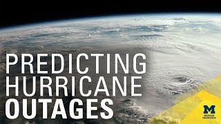 Predicting hurricane power outages