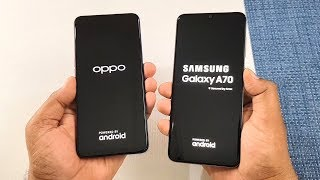 Oppo K3 vs Samsung A70 SpeedTest | Camera Test | TechTag